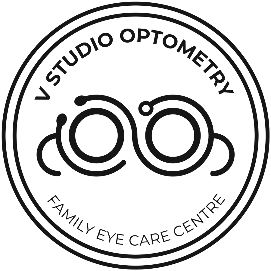 V Studio Optometry's Logo